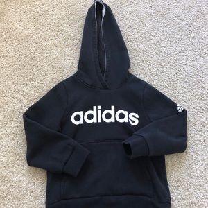 Adidas Black Toddler Hoodie